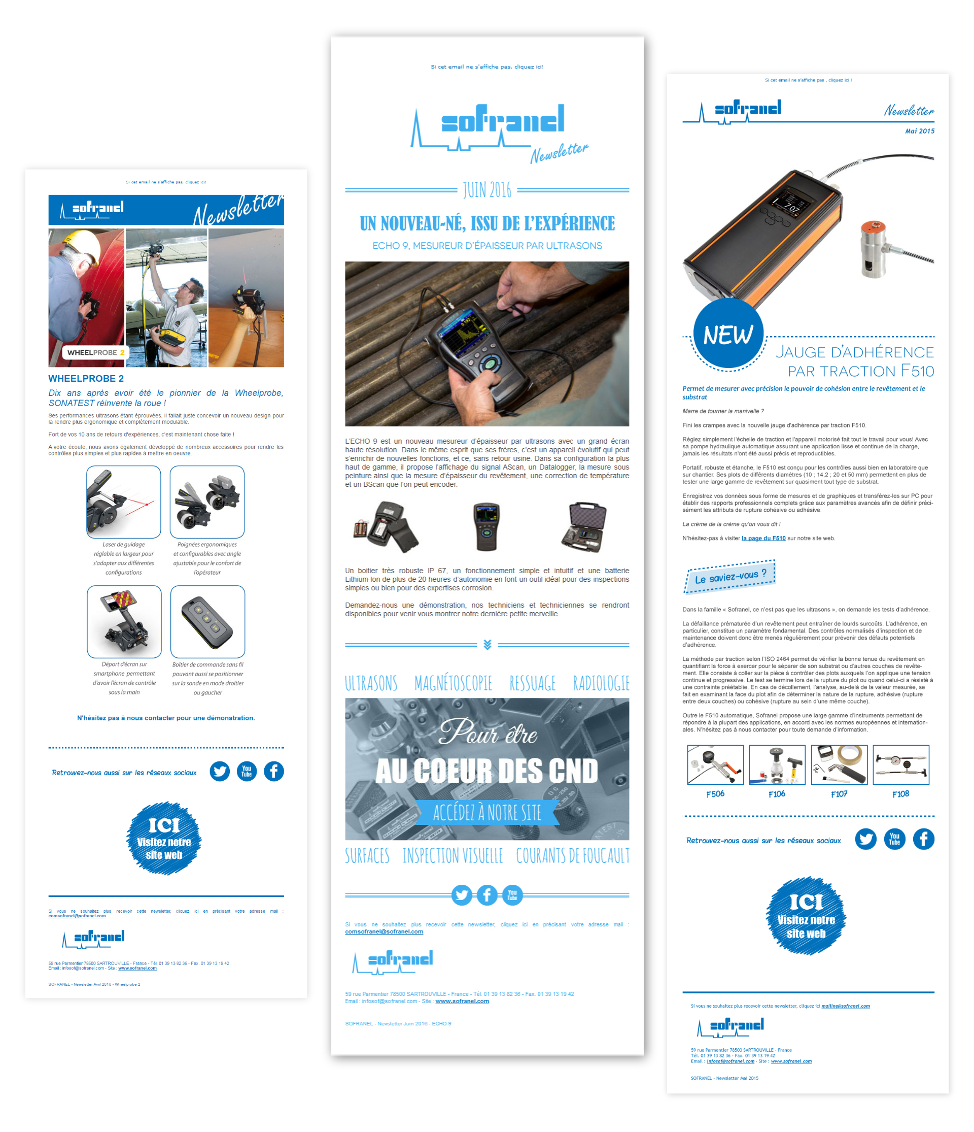 Newsletters Sofranel